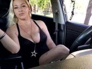 katst0ne depraved blonde cam girl presents her pussy drilled
