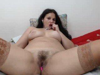 carlasexy27 fat cam girl likes live XXX sex cum show with an ohmibod