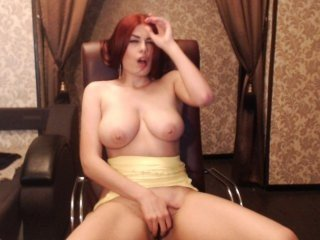 alisestrip a very bad redhead webcam girl is ready to be used