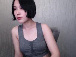 aoi_renji depraved brunette cam girl presents her pussy sodomized