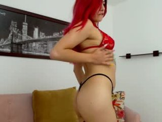 allison_ferrerr redhead cam girl pleasing her tight pussy with a his favorite sex toy online