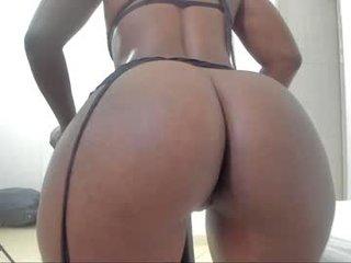 kimberly_ebony_ cam girl gets her ass hard fucked by her partner