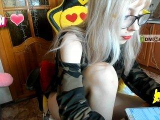 -ladygaga- european cam girl enjoys her naughty solo session live on cam