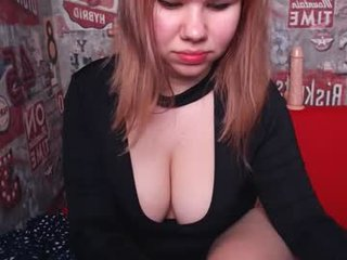 victoriajohns a pussy this redhead cam babe with no one to bang it